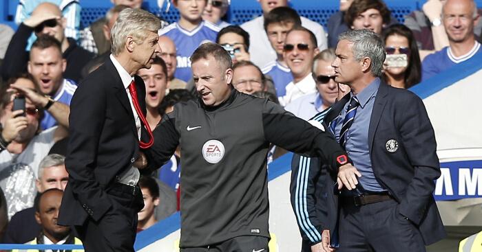 Wenger Mourinho Clash